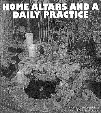 Home Altars and a Daily Practice