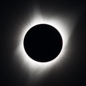Picture of total solar eclipse